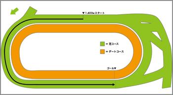 カウントアップ・競馬場DATA