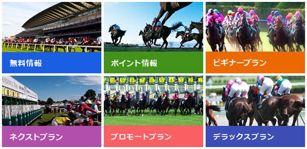 Web競馬の提供情報